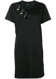 Versus safety pin T-shirt dress