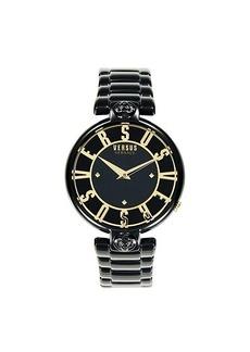 Versus Stainless Steel & Crystal Bracelet Watch