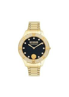 Versus Stainless Steel & Swarovski Crystal Bracelet Watch