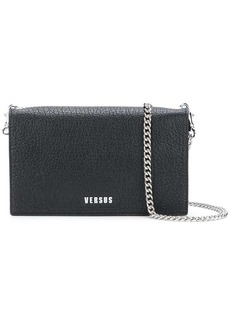 Versus textured logo shoulder bag
