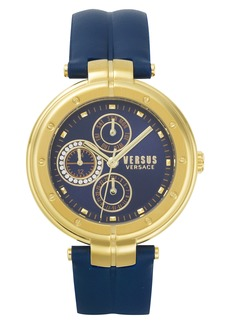 VERSUS by Versace Bellville Leather Strap Watch, 38mm