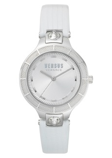 VERSUS by Versace Claremont Leather Strap Watch, 32mm