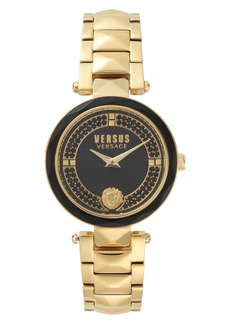 VERSUS by Versace Covent Garden Crystal Accent Bracelet Watch, 36mm
