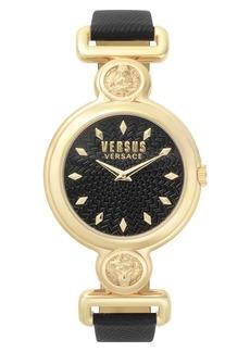 VERSUS by Versace Sunnyridge Leather Strap Watch, 34mm