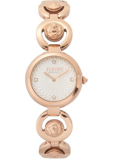 Versus by Versace Women's Peking Road Petite Rose Gold-Tone Stainless Steel Bracelet Watch 28mm