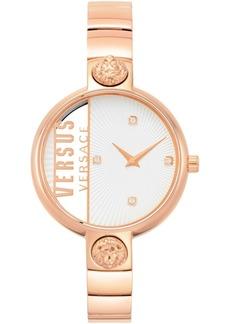 Versus by Versace Women's Rue Denoyez Rose Gold-Tone Stainless Steel Bracelet Watch 34mm