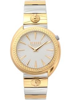 Versus by Versace Women's Tortona Two Tone Stainless Steel Bracelet Watch 38mm