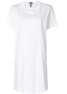 Versus oversized T-shirt dress - White