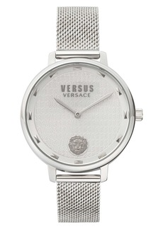 VERSUS Versace La Villette Mesh Strap Watch, 36mm