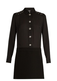Versus Versace Stud-embellished shirtdress