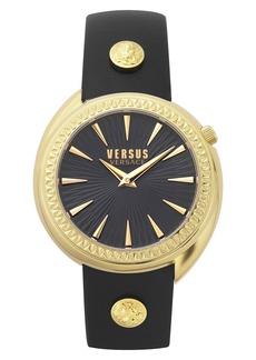 VERSUS Versace Tortona Leather Strap Watch, 38mm