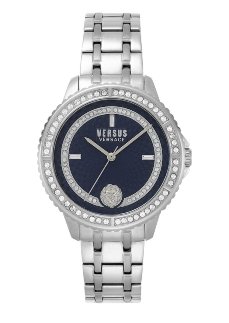 Versus Versace Women's Montorgueil Stainless Steel Metal Bracelet 44MM Watch