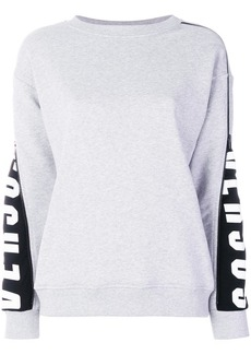 Versus zipped sleeve sweatshirt