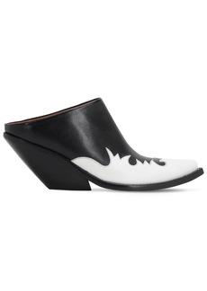 Vetements 70mm Kick-ass Leather Mules