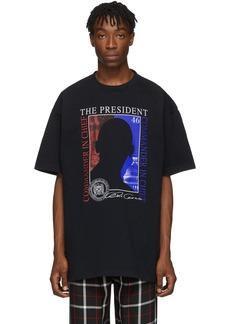 Vetements Black 'The President' T-Shirt