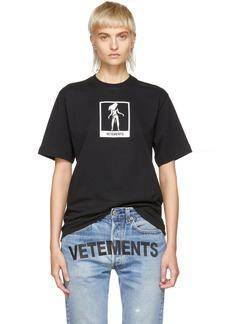 Vetements Black Virgo Horoscope T-Shirt
