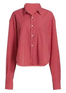 Vetements Check Cut-Up Shirt