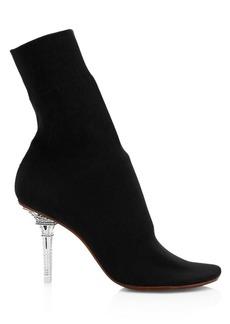Vetements Eiffel Tower Heel Sock Ankle Boots