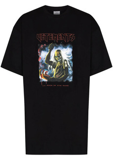 Vetements graphic-print crew neck T-shirt