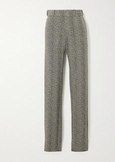 Vetements Herringbone Woven Straight-leg Pants