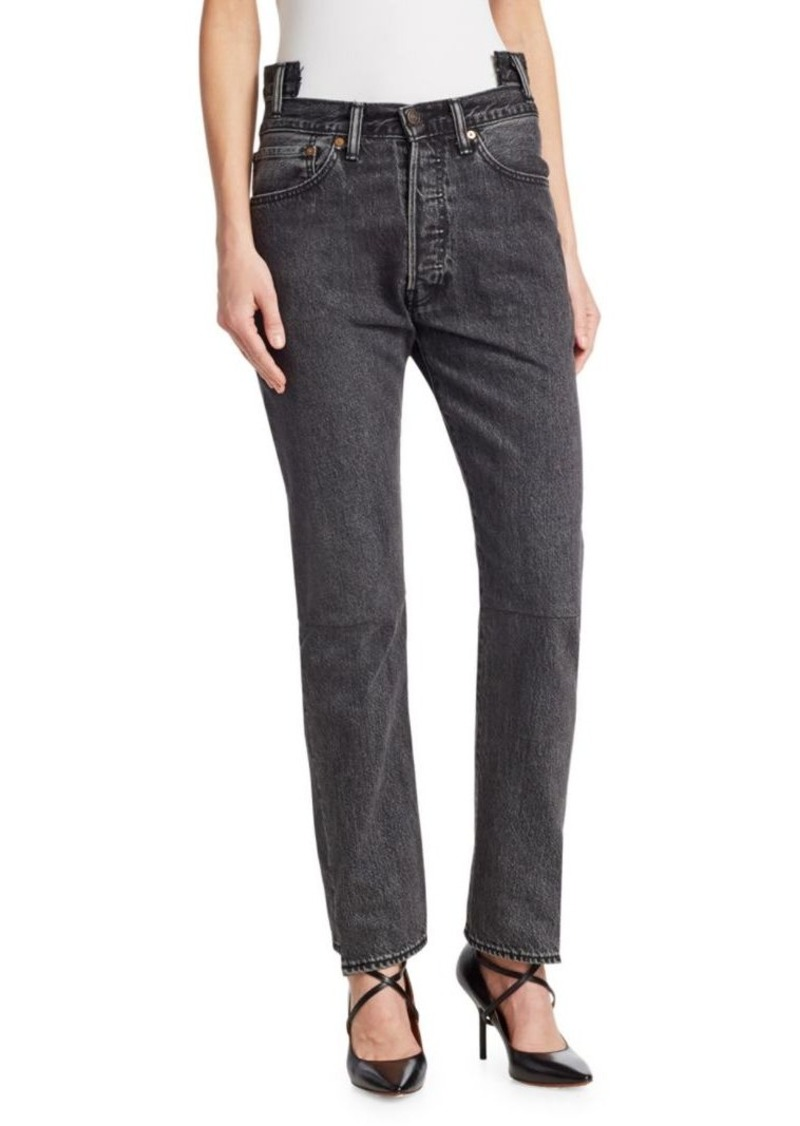 Vetements High Waisted Jeans