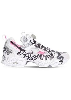Vetements Instapump Graffiti Fury Sneakers