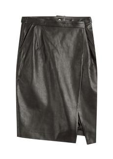 Vetements Leather Skirt