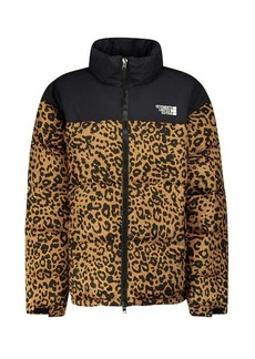 Vetements Leopard-print down jacket