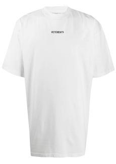 Vetements logo-print T-shirt