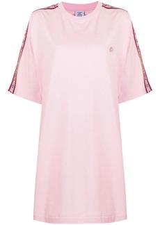 Vetements logo-tape cotton T-shirt