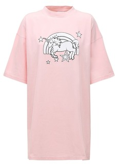 Vetements Magic Unicorn Cotton Jersey T-shirt