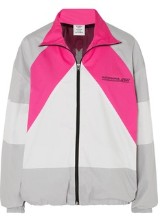 Vetements Mustermann Color-block Cotton Track Jacket