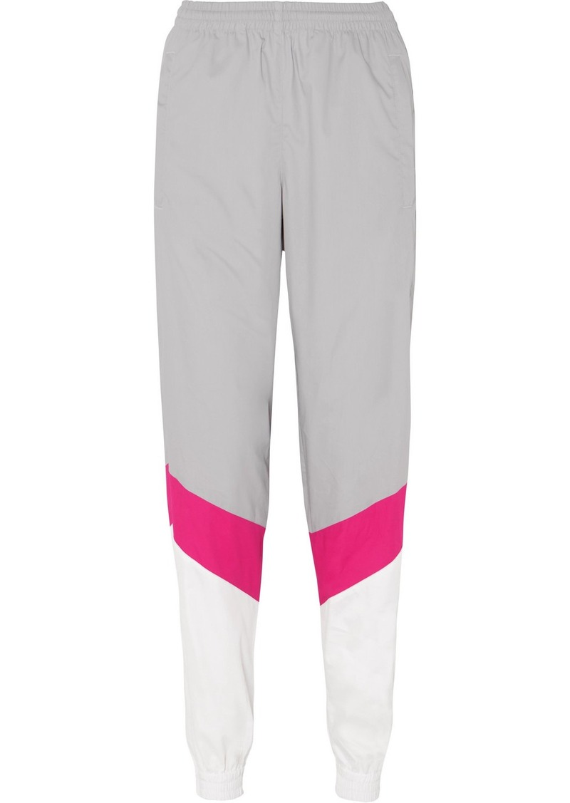 Vetements Mustermann Color-block Cotton Track Pants