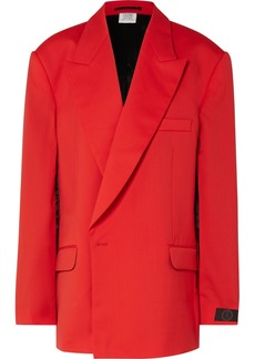 Vetements Oversized Cape-effect Wool Blazer