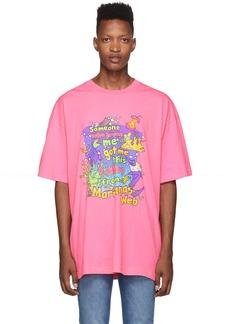 Vetements Pink Vacation T-Shirt