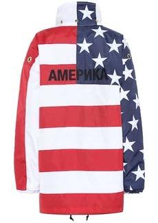 Vetements Printed nylon jacket