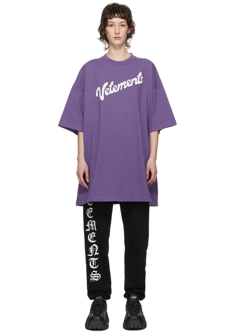 Vetements Purple Milk T-Shirt