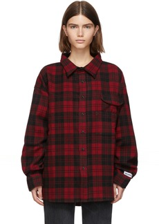 Vetements Red Over Your Hoodie Shirt