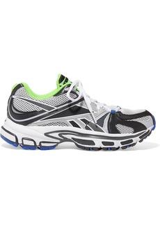 Vetements Reebok Runner 200 Rubber-trimmed Mesh Sneakers