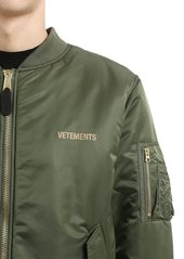 85564ae94 Vetements Reversible Cropped Nylon Bomber Jacket | Outerwear