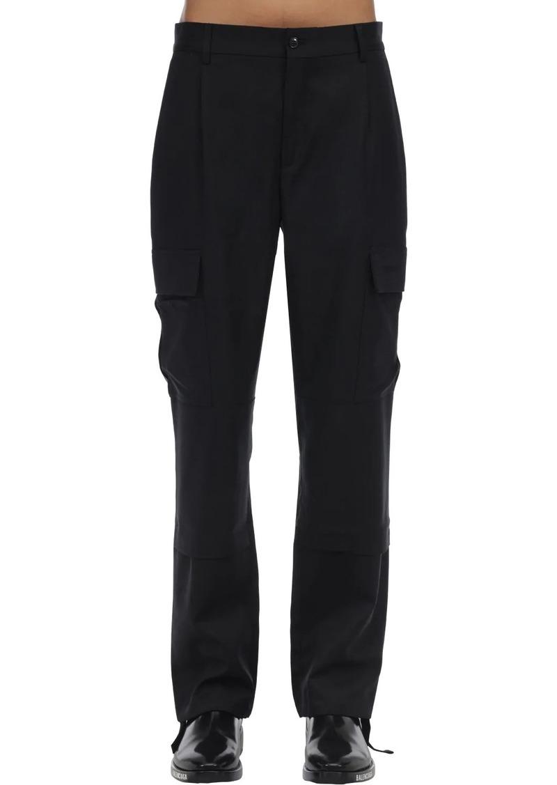 Vetements Tailored Virgin Wool Cargo Pants