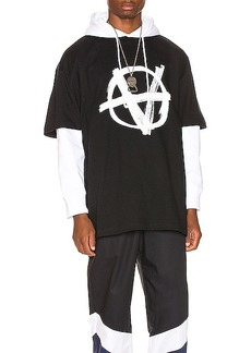 VETEMENTS Anarchy Front Tee