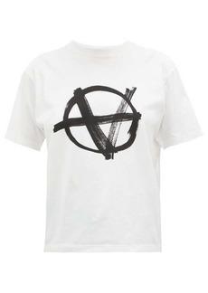 Vetements Anarchy-print cotton T-shirt