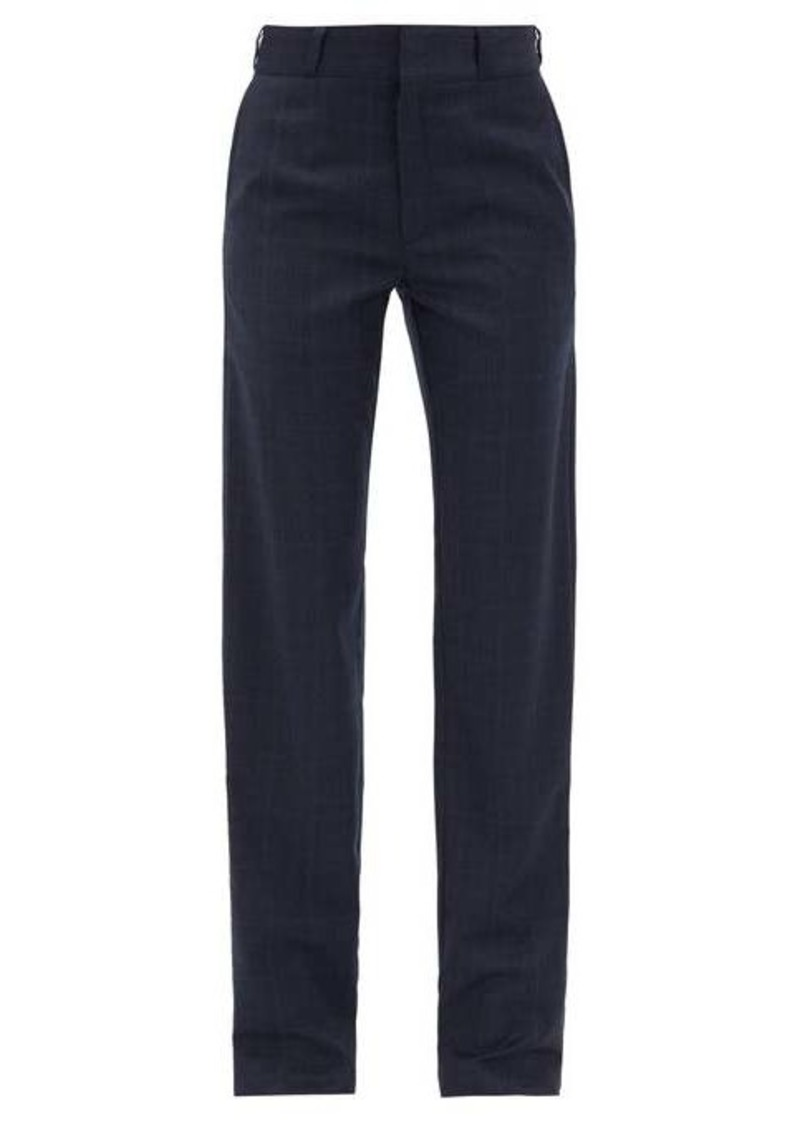Vetements Checked trousers