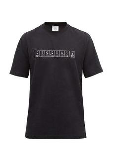 Vetements Chemical logo-print cotton-jersey T-shirt