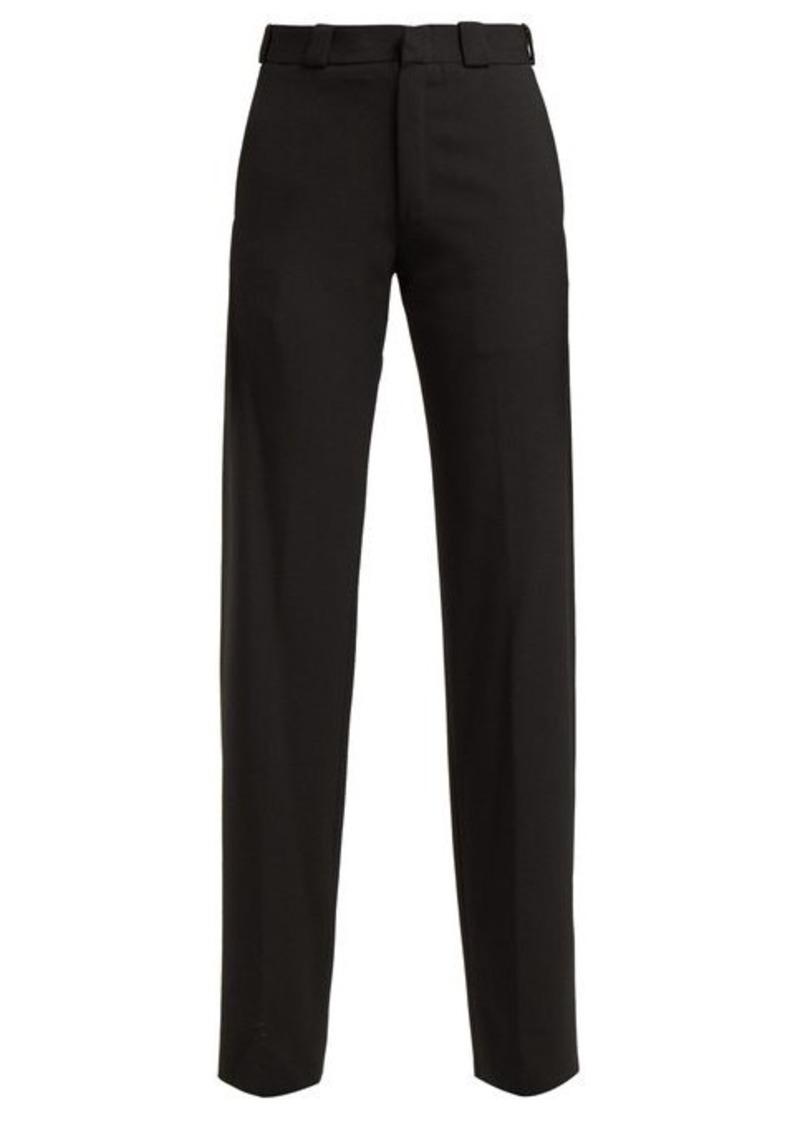 Vetements Cut-out straight-leg trousers