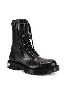 VETEMENTS Dominium In Rectum Army Boots