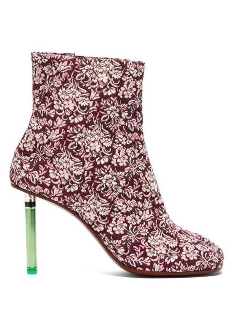 Vetements Geisha split-toe lighter-heel ankle boots