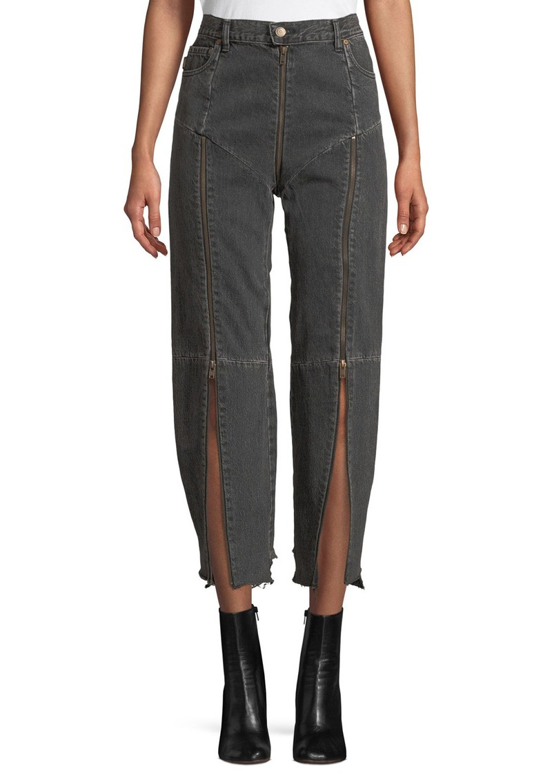 Vetements Levi's Zip-Trim Denim Jeans