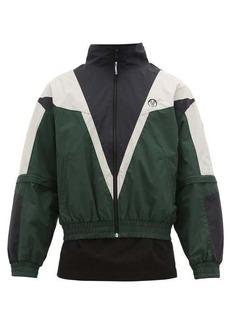 Vetements Logo-print zip-away sleeves track jacket